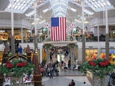 A shopping mall in the US