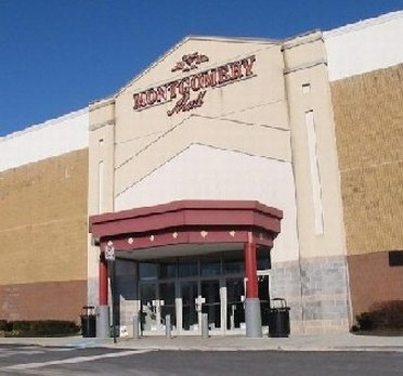 Outside view of Montgomery Mall