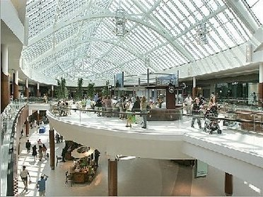 Inside view of Natick Mall