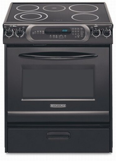 Nice black stove from Sears