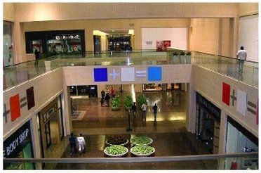 Inside view of North Park Mall