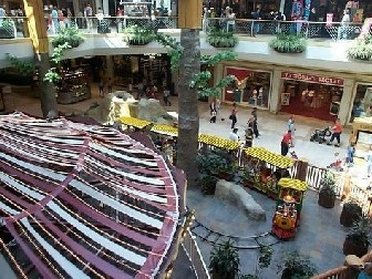 Inside Oak Park Mall