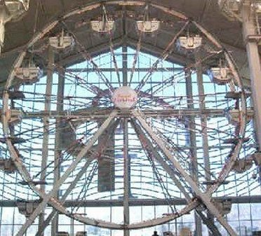 Paris Wheel inside Palisades Center Mall