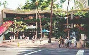Outside Royal Hawaiian Mall