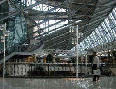 Inside Stonebriar Mall