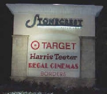 Target sign at the Stonebriar Mall