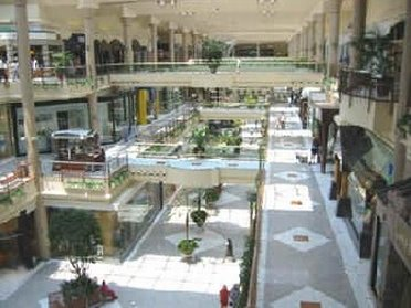 Inside view of Tysons Corner Mall