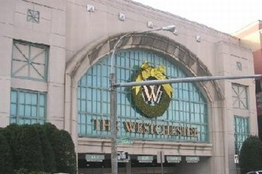 Outside view of Westchester Mall
