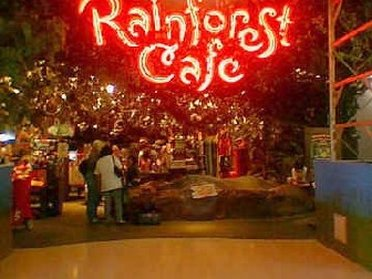 Rainforest Cafe at Yorkdale Mall